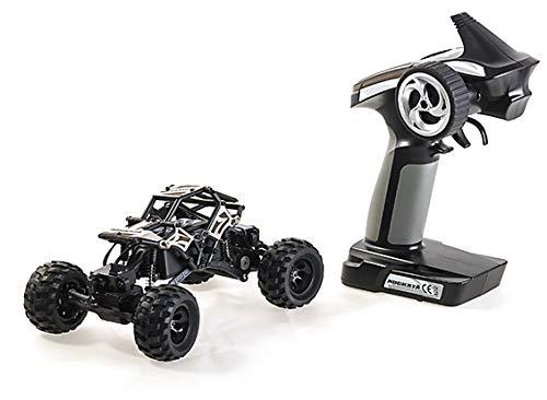 HobbyKing Basher RockSta 1/24 4WS Mini Rock Crawler (RTR) (Metal...