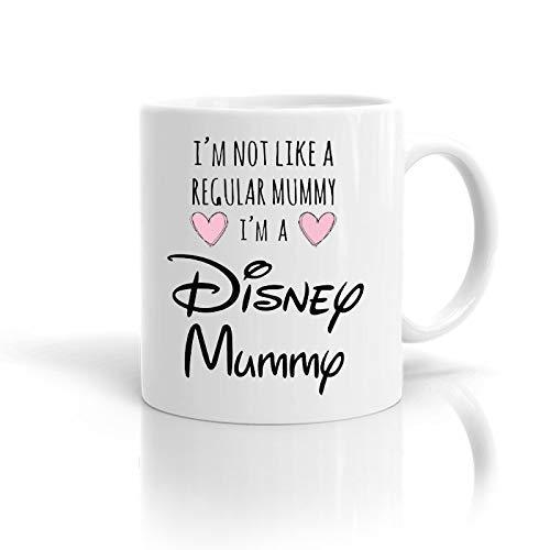 N\A Taza de mamá de Disney, Regalo para Ella, Taza del día de la Madre, Mejor Regalo de cumpleaños para mamá