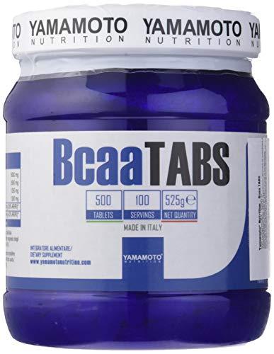 Yamamoto Nutrition BCAA TABS, 500 Tablets, 640 g