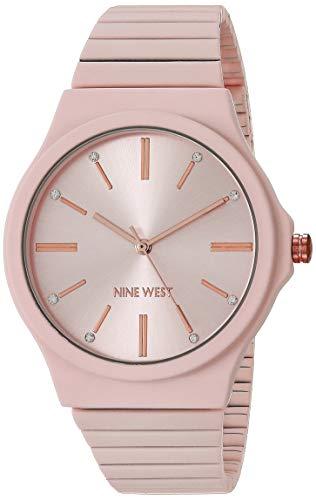 Nine West Women's Rubberized Bracelet Watch, NW/2532