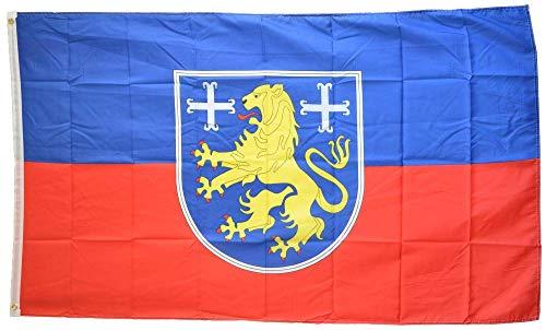Flaggenfritze® Flagge/Fahne Deutschland Landkreis Friesland - 90 x 150 cm, 115 gr/m²