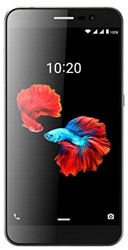 ZTE Blade A910 Smartphone (13,97 cm (5,5 Zoll) Bildschirm, 16 GB Speicher, Android 6.0) Grau