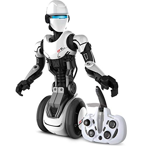 Sharper Image RC Humanoid OP One Robot with Moving Arms and Gripping Hands