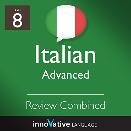 Advanced Conversation Review Combined (Italian)  By  cover art