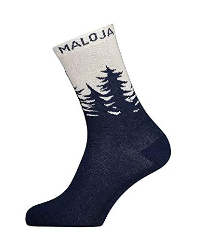 Maloja Labanm. Socken Blau, Socken, Größe EU 36-38 - Farbe Night Sky