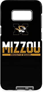 Skinit Pro Phone Case for Galaxy S8 - Officially Licensed College University of Missouri Mizzou Design