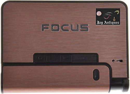 WBD Focus Automatic Ejection Cigarette Case with a Lighter- Multicolour