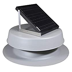 this is a great value in solar powered attic fans