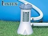 Filtro monobloque de cartucho Intex de 2 m3/h para piscinas Intex 28604FR