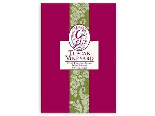 Greenleaf Large Scented Fragrance Sachet 115ml - Tuscan Vineyard