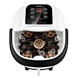 Best Foot Spas - Foot Spa Bath Massager with Heat Bubbles, Automatic Review
