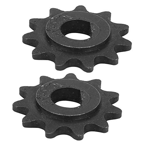 nulala Electric Pinion Motor Gear 2Pcs E-Scooter Electric Sprocket Drive Pinion 11 Tooth Chain 25H High Speed Motor Gear