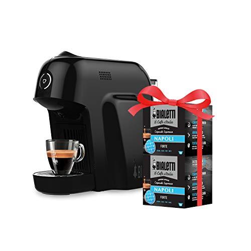 Bialetti Macchina Caffè Espresso Smart per Capsule in Alluminio sistema Bialetti il...