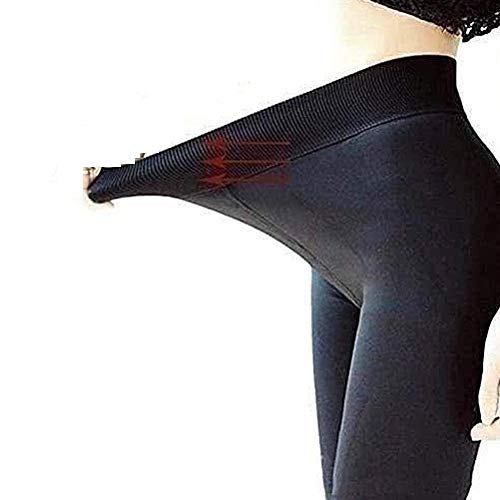 Sarple Leggings de Cachemira de Cordero súper Gruesos para Mujer Pantalones de Mujer Pantalones Gruesos Todo en uno de Invierno con Pantalones cálidos de Cintura Alta