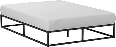 Zinus Joseph 10 Inch Metal Platforma Bed Frame / Mattress Foundation / Wood Slat Support / No Box Spring Needed / Sturdy Stee