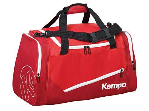Kempa Uni Sporttasche-200491303 Unisex Sporttasche, Rot/Chilirot, 56 cm