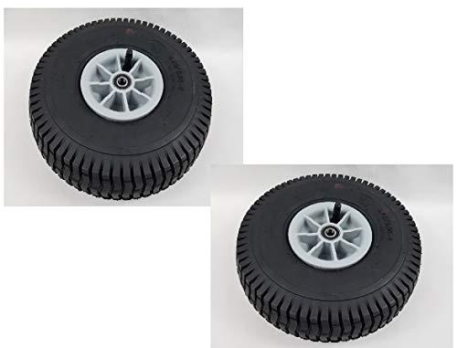 Sparset: Rad, Luft-Reifen f. Tretfahrzeuge, Bollerwagen Ø260mm 4.10/3.50-4, 2St.