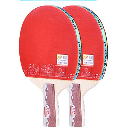 Best Prices! SSHHI Ping Pong Paddle Set,Table Tennis Paddle 2 Groups,Suitable for Intermediate Playe...