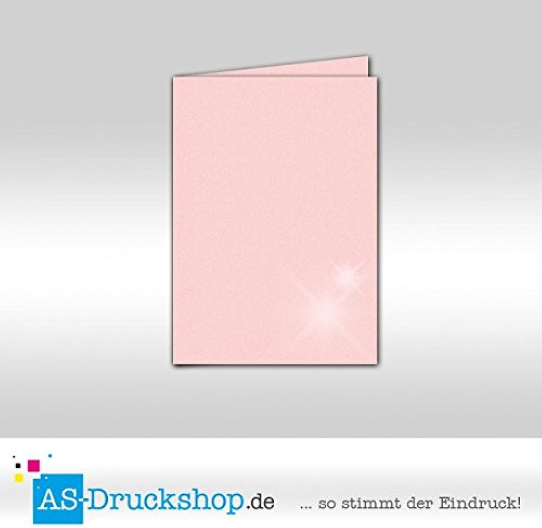 Faltkarte Faltkarte Faltkarte Doppelkarte - Ballerina - mit Perlmutt-Glanz 100 Stück DIN B6 B0794XJFCH | Billig ideal  d9ba7c