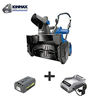 Snow Joe iON18SB 40-Volt iONMAX Cordless Brushless Single Stage Snowblower Kit | 18-Inch | W/ 4.0-Ah Battery and Charger (B00E3OXF6A) | Amazon price tracker / tracking, Amazon price history charts, Amazon price watches, Amazon price drop alerts