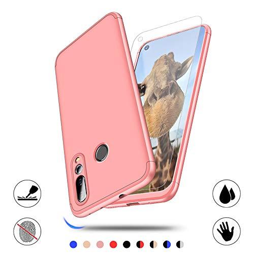 AChris Hülle für Huawei Nova 4 360 Grad Ultradünne Leichte Matte Handyhülle mit Bildschirmschutz Einfache Stoßfeste Kratzfeste Ganzkörper Hülle kompatibel mit Huawei Nova 4