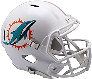 Miami Dolphins New 2018 Officially Licensed Speed Full Size Replica Football Helmet