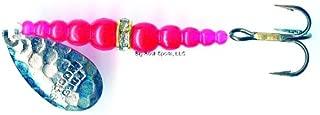 Mack's Lure 09790 Wedding Ring Spinner - Treble Hook Series Hammered Nickel