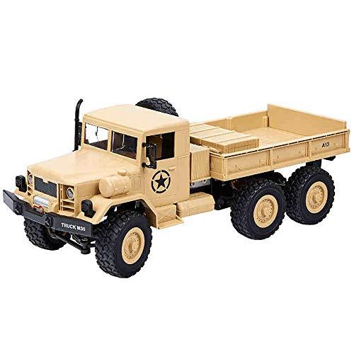 Xolye Télécommande Camion Lourd 2-8 Enfants d'un an Electric Toy Car Puissant 01h12 Simulation Camion Adapter à Divers véhicules d'ingénierie de Terrain (Color : Yellow, Taille : 2 Batteries)