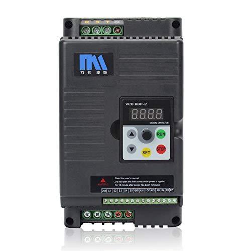 Driver van de spanningsomvormer 5,5 kW & box voor verlengkabel 380 V voor de draaimachine van de fan – zwart