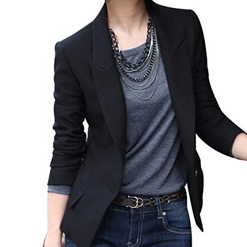 Blazer Feminino Fashion Preto (M)