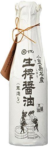 Kishibori Shoyu Handwerkliche japanische Sojasoße Premium, Unverfälscht und ohne Konservierungsstoffe Fass Alter 1 Jahr - 1 Flasche - 720 ml