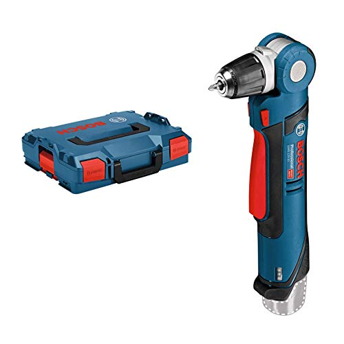 Bosch Professional Perceuse d'angle à batterie GWB 12V-10 (12V, Couple (tendre/dur/maxi) : 3/11/- Nm, Coffret L-BOXX)