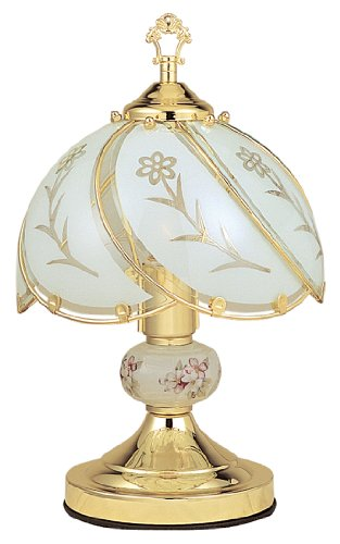 3 Way Touch Lamp, White Color