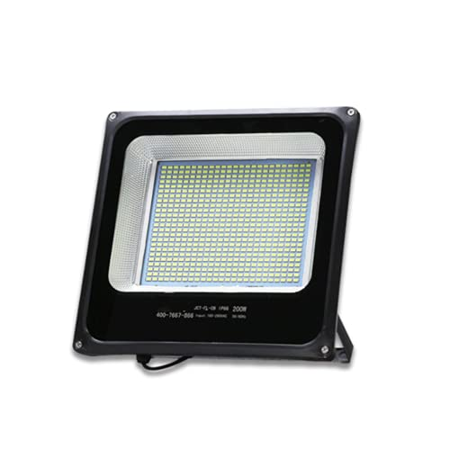 WBP Luz de iluminación al Aire Libre LED, luz Impermeable Blanco Super Brillante luz de Seguridad, Adecuada para jardín Corte de Baloncesto Publicidad Llor de búsqueda