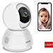 Peteme Baby Monitor 1080P FHD Home WiFi Security Camera Sound/Motion Detection with Night Vision 2-Way Audio Cloud Service Available Monitor Baby/Elder/Pet Compatible with iOS/Android (Renewed)