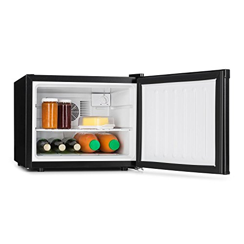 Klarstein Manhattan Nevera mini - Minibar 2 zonas, Temperatura 3 nivel