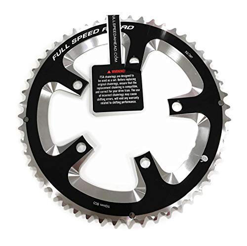 FSA Super Road Chainring Black, 110x50t