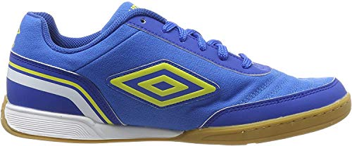 Umbro Herren Futsal Street V Futsalschuhe, Blau (Electric Blue/Blazing Yellow/Tw Royal/White FNU), 44.5 EU