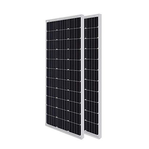 Renogy Monokristallin Solarmodul Solarbausatz (100Wx2)