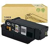 Compatible con el Cartucho de tóner DELL C1660W para el Color del Cartucho de Impresora láser DELL C1660W,Negro
