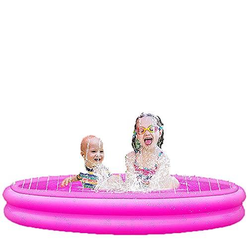 WSDSX Piscinas, Piscinas inflables, Fuentes Circulares, Piscinas Interiores y Exteriores para el hogar, Piscinas para niños, 50נ12 Pulgadas