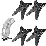 Weikeya Kamera Flash Ständer, Flash Blitzgerät Für Hot Shoe Halterung Ständer Mit 1/4 ' Metall...