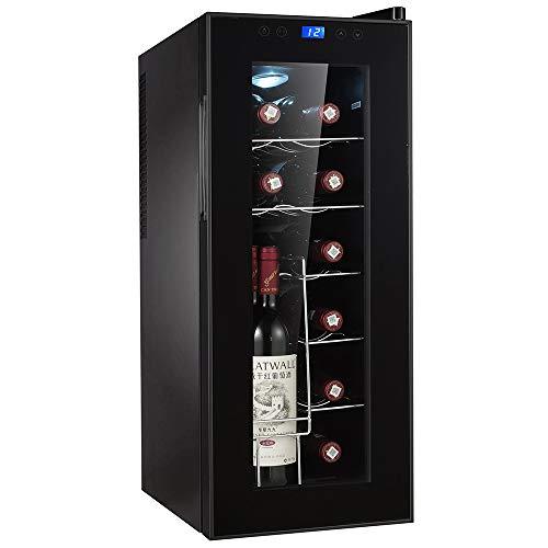 Wolkenstein Weinkühlschrank WKS12A-V - 34 Liter 12 Flaschen