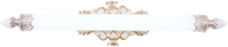 LED-Spiegel Frontlicht American Style Pastoral Badezimmer Spiegel Schrank Lichter Dressing Tischlampe (Warm Light) ( Farbe    2-75CM14W )