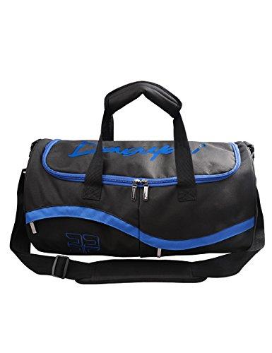 Douguyan Modo Leggero Grande Borsa da Viaggio Sport Valigia Duffel 170 Blu