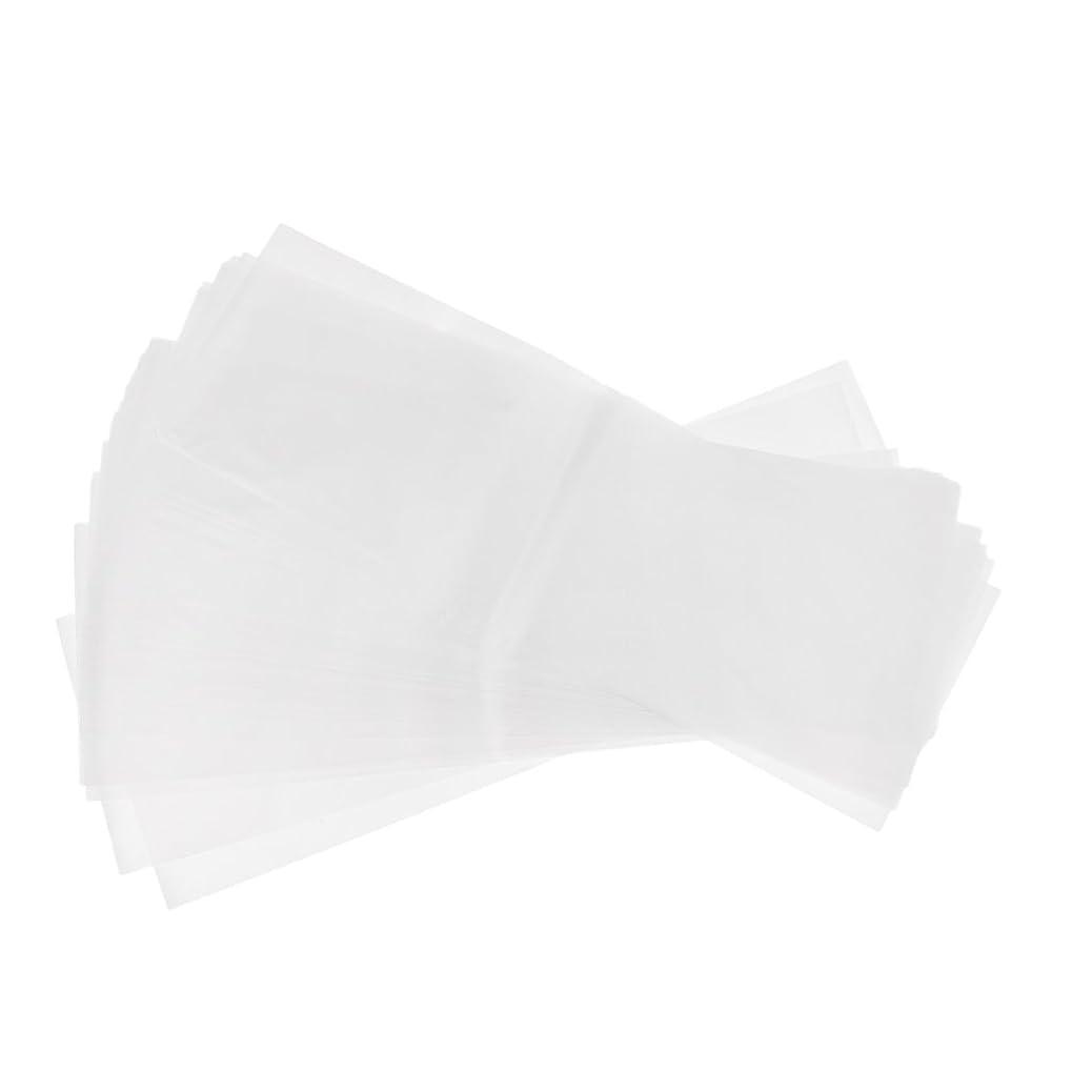 インデックスカウントアップたくさんのPerfk 約50枚 プラスチック製 染毛紙 ハイライトシート サロン ヘア染めツール 再利用可能  髪染め 2タイプ選べ - ホワイト