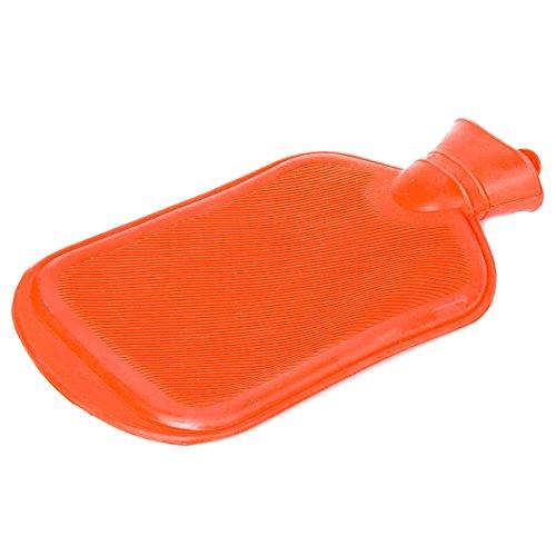 Bolsa de agua caliente de calidad, de Snoozy; de 2 litros de volumen, XXL, de caucho 100% natural