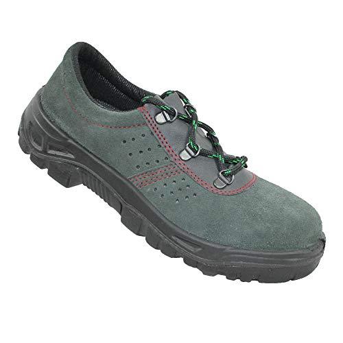 Iturri S1P SRC Seguridad Zapatos Zapatos de Trabajo Profesional de los Zapatos Medio Verde B-Ware