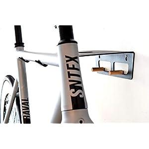 Fahrradhalter / Fahrradzubehör / Fahrrad Wandhalterung TEIKO black