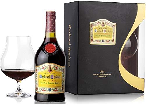 Cardenal Mendoza Brandy (Edles Geschenkset mit Glas) (1 x 0.7 l)